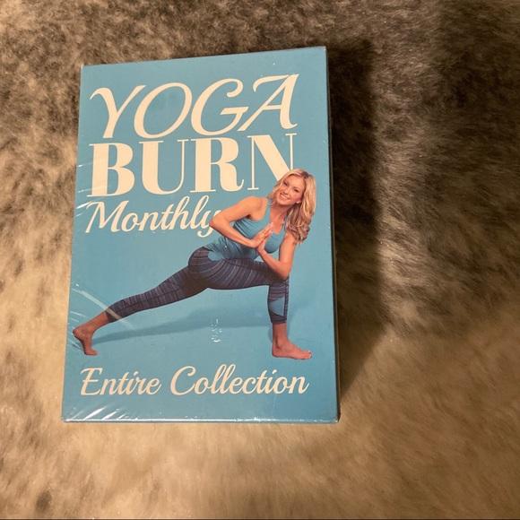 Yoga burn pack brand new never opened!